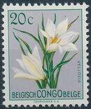 Belgian Congo 1952 Flowers c