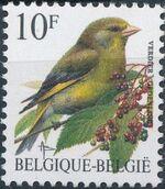 Belgium 1992 Birds (B) e