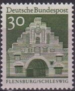 Germany, Federal Republic 1966 Building Structures from Twelve Centuries (1st Group) b