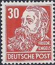 Germany DDR 1952 Famous People i