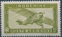 Indo-China 1933 Airmail - With Inscription RF d