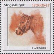 Mozambique 2002 The Wonderful World of Horses b