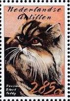 Netherlands Antilles 2003 Cats l
