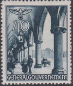 Poland-General Government 1940 Buildings (1st Group) h