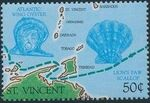 St Vincent 1989 500th Anniversary of Discovery of America 1992 p
