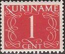 Surinam 1948 Numerals a