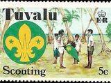 Tuvalu 1977 Scouting in Tuvalu 50th Anniversary