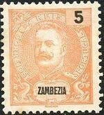 Zambezia 1898 D. Carlos I b