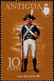 Antigua 1974 Military Uniforms b
