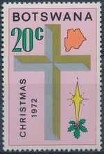 Botswana 1972 Christmas d