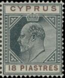Cyprus 1904 King Edward VII g