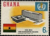 Ghana 1966 Inauguration of WHO Headquarters a