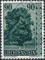 Liechtenstein 1959 Native Trees and Shrubs (3rd Group) c