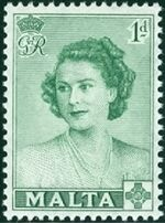 Malta 1950 Visit of Princess Elizabeth a