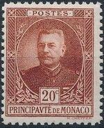 Monaco 1923 Prince Louis II a