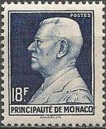 Monaco 1948 Prince Louis II of Monaco (1870-1949) e