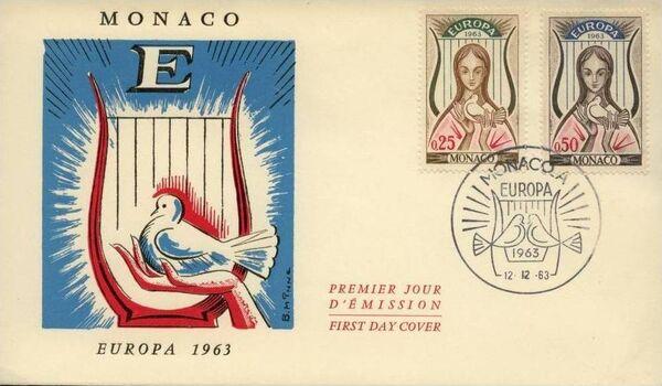 Monaco 1963 Europa c