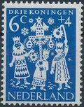 Netherlands 1961 Child Welfare Surtax b