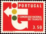 Portugal 1965 1st National Traffic Congress c