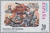 """Spain 1998 Scenes from """"Don Quixote"""" e"""