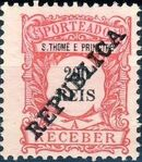 St Thomas and Prince 1913 Postage Due Stamps - 2nd Overprint i
