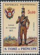 St Thomas and Prince 1965 Military Uniforms f