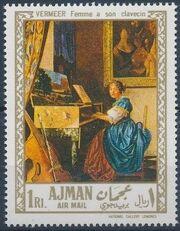 Ajman 1968 Paintings d