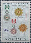 Angola 1967 Portuguese Civil and Military Orders j
