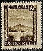 Austria 1945 Landscapes (I) f