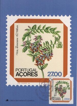 Azores 1982 Azores Flowers (2nd Issue) j