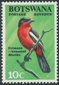 Botswana 1967 Birds g