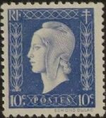 France 1945 Marianne de Dulac (2nd Issue) a