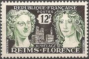 France 1956 Kinship of Reims and Florence a