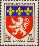 France 1958 Coat of Arms b