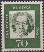Germany, Federal Republic 1961 Famous Germans k