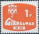Gibraltar 1976 Postage Due Stamps a