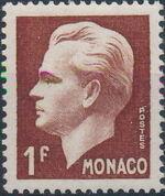 Monaco 1950 Prince Rainier III b