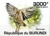 Burundi 2011 Owls of Burundi h