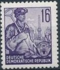 Germany DDR 1953 Workers For The Five-year Plan h