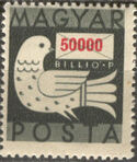 Hungary 1946 Dove and Letter l
