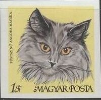 Hungary 1968 Domestic Cats ac