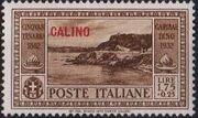 Italy (Aegean Islands)-Calino 1932 50th Anniversary of the Death of Giuseppe Garibaldi h