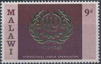 Malawi 1969 50th Anniversary of International Labour Organization b