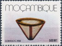 Mozambique 1988 Basketry - Local Crafts f