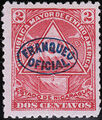 Nicaragua 1898 Official Stamps Overprinted in Blue b.jpg