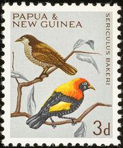 Papua New Guinea 1965 Birds b