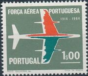 Portugal 1965 50th Anniversary of the Portuguese Air Force a