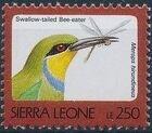 Sierra Leone 1992 Birds o