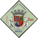 Angola 1963 Coat of Arms - (1st Serie) h