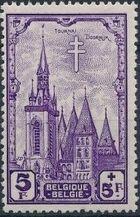 Belgium 1939 Anti Tuberculosis - Belfries h